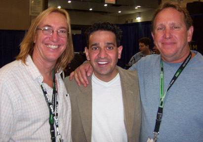 Joey P. with hit Producer/Engineers Chuck Ainlay and Ed Cherney