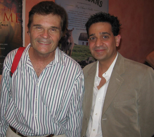Actor Fred Willard with Joey P.