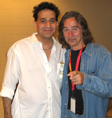 Joey P. with Barry Goudreau