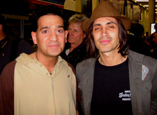 Nuno Bettencourt and Joey P