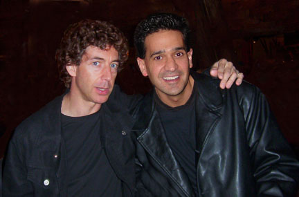 Joey P. with Top studio Drummer/Producer/Engineer Simon Phillips