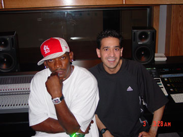 Joey P. with Grammy Nominee and Jive Records artist Petey Pablo